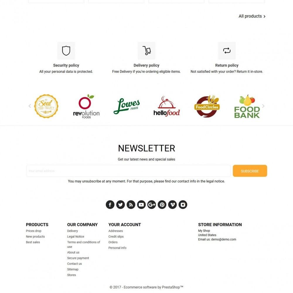 theme - Gastronomía y Restauración - Food For You - 4
