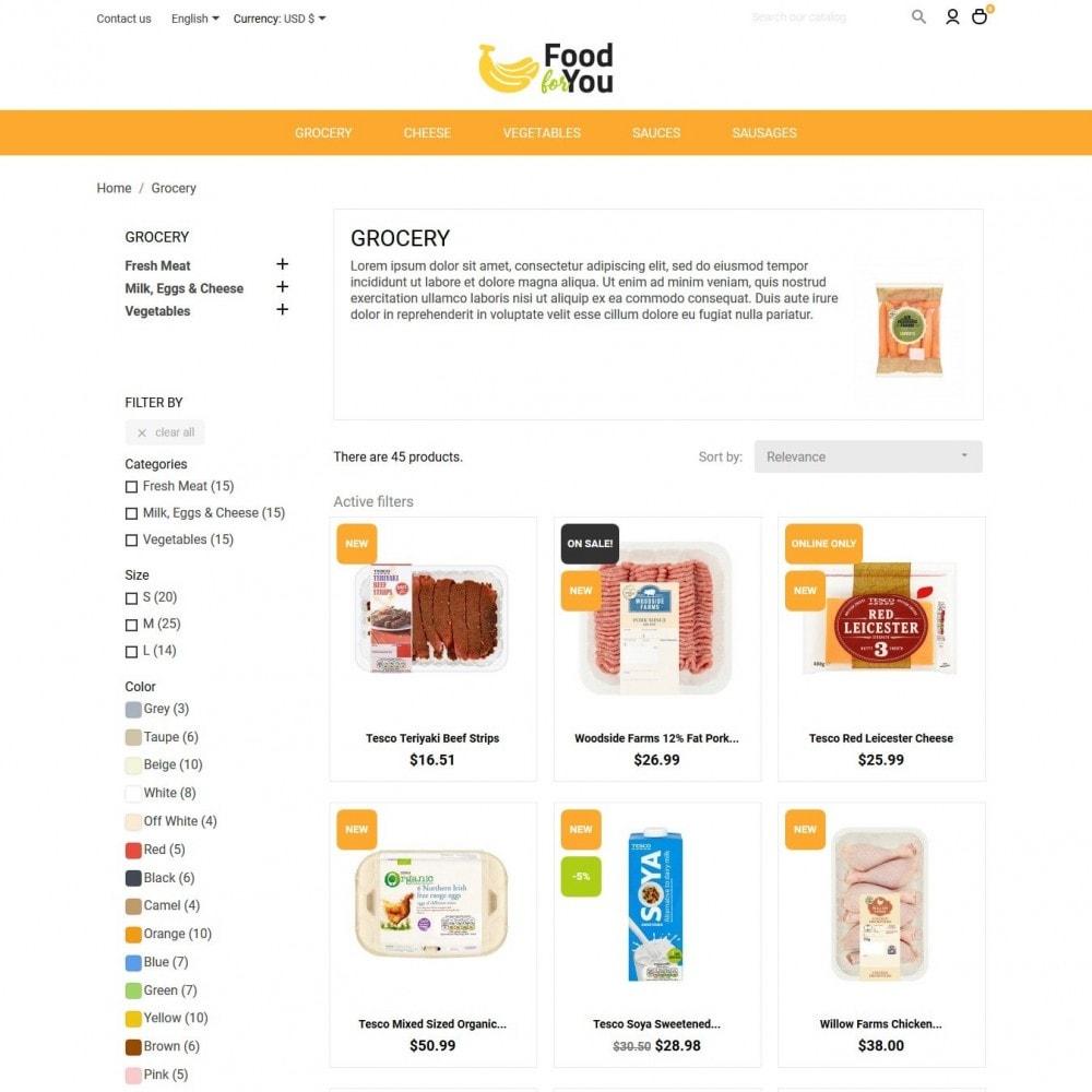 theme - Cibo & Ristorazione - Food For You - 5