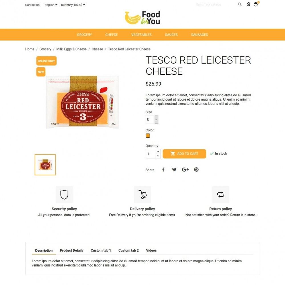theme - Cibo & Ristorazione - Food For You - 6