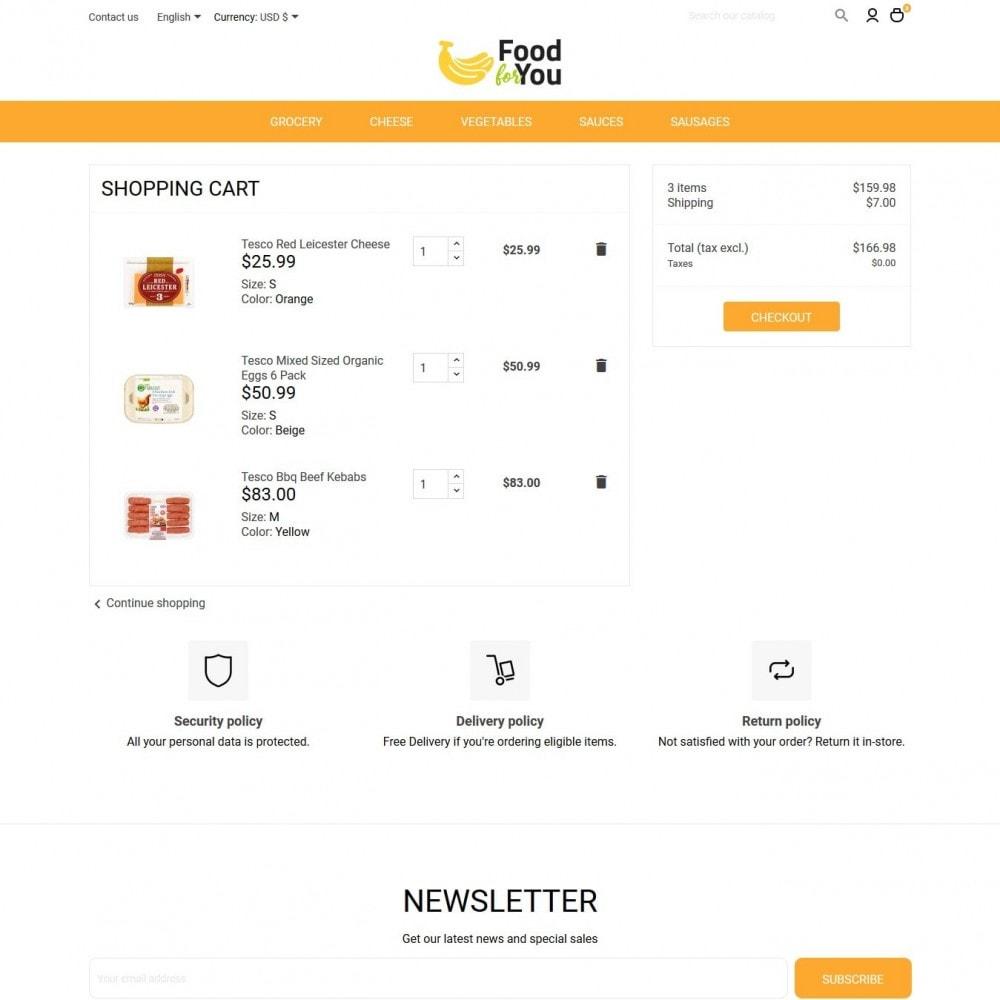 theme - Gastronomía y Restauración - Food For You - 9
