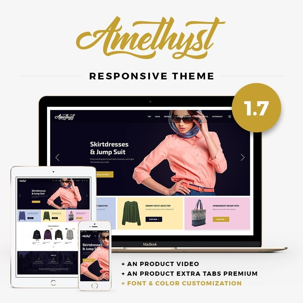 theme - Moda & Calzature - Amethyst Fashion Store - 1