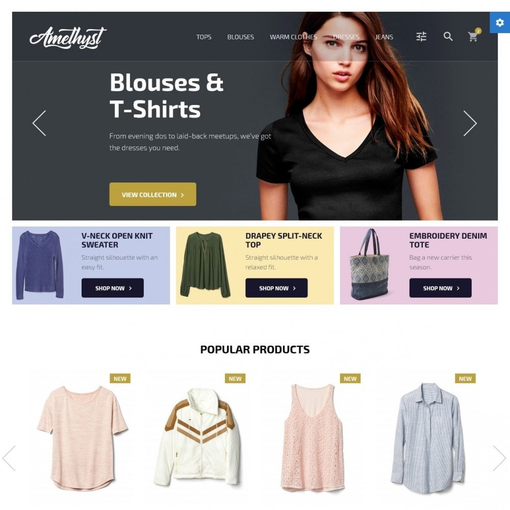 theme - Moda & Calzature - Amethyst Fashion Store - 2