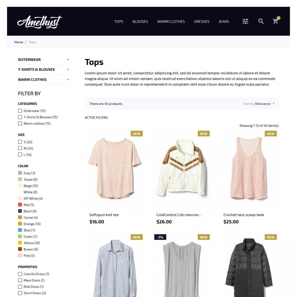 theme - Moda & Calzature - Amethyst Fashion Store - 5