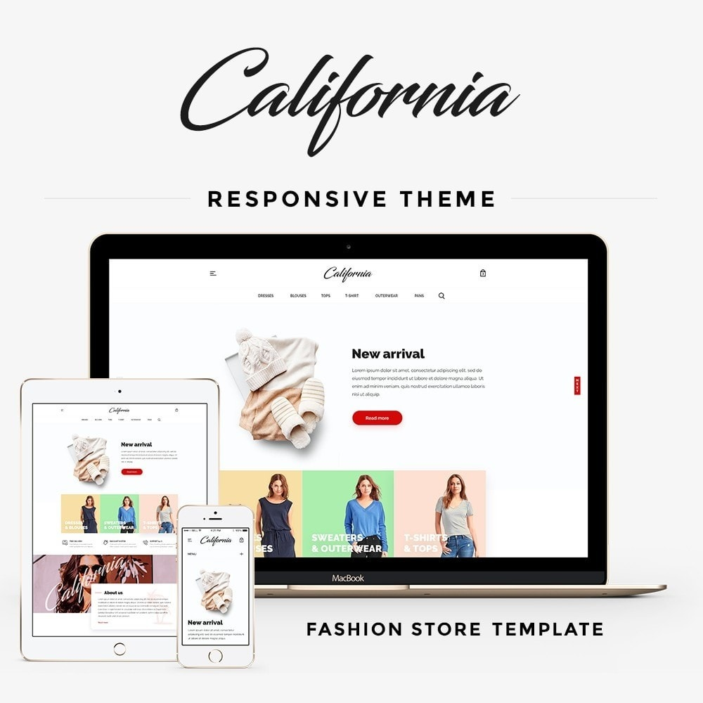 theme - Mode & Chaussures - California Fashion Store - 1