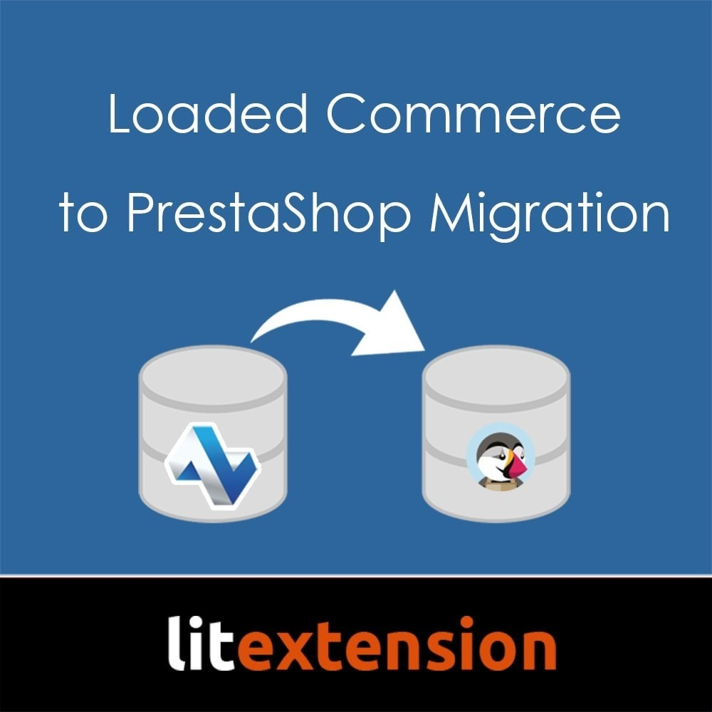 module - Migratie-tools - LitExtension: Loaded Commerce to Prestashop Migration - 1