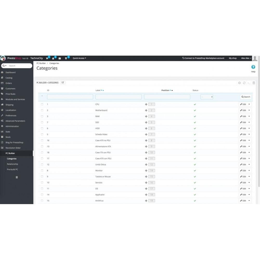 module - Combinaciones y Personalización de productos - PC Builder | PC Configurator - 1