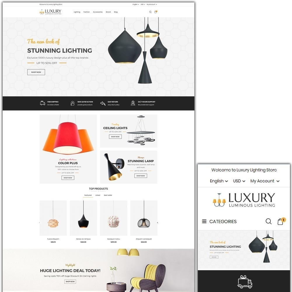 theme - Heim & Garten - Luxury Lighting Store - 1