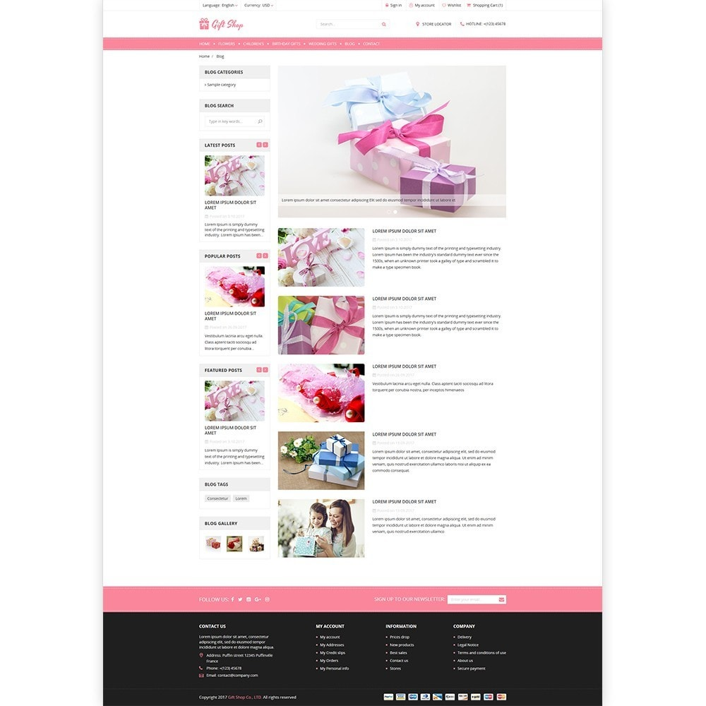 theme - Gifts, Flowers & Celebrations - Gift Shop - For gift, flower, toy & accessories stores - 5