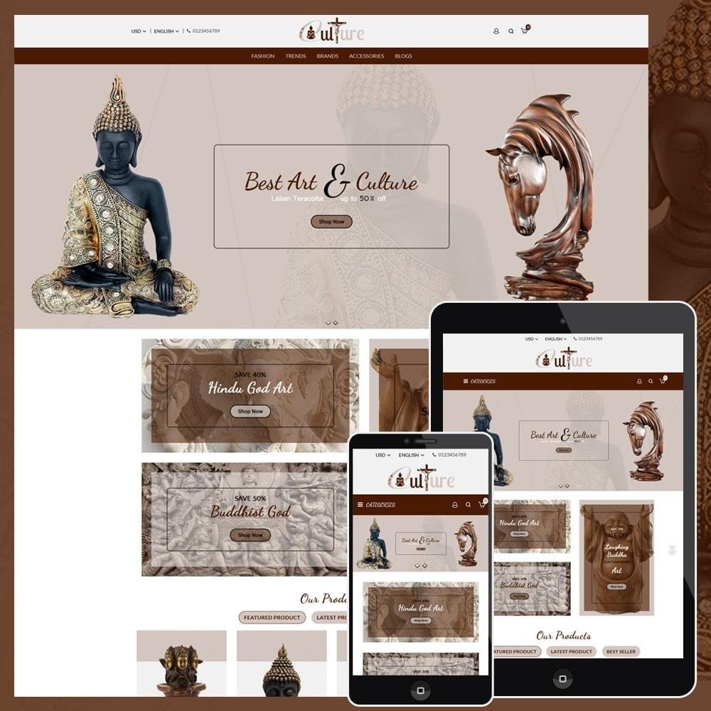 theme - Art & Culture - Art Culture Store - 1