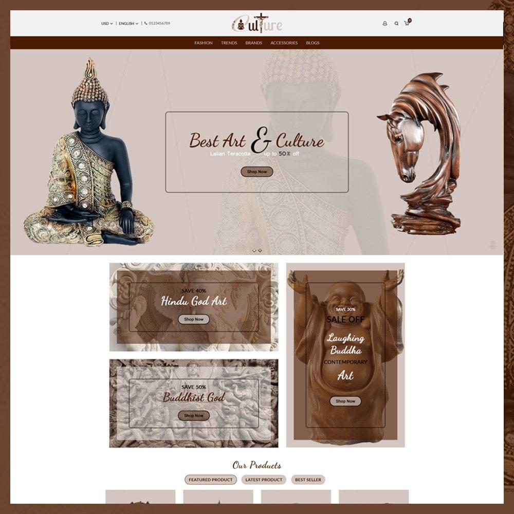 theme - Art & Culture - Art Culture Store - 2