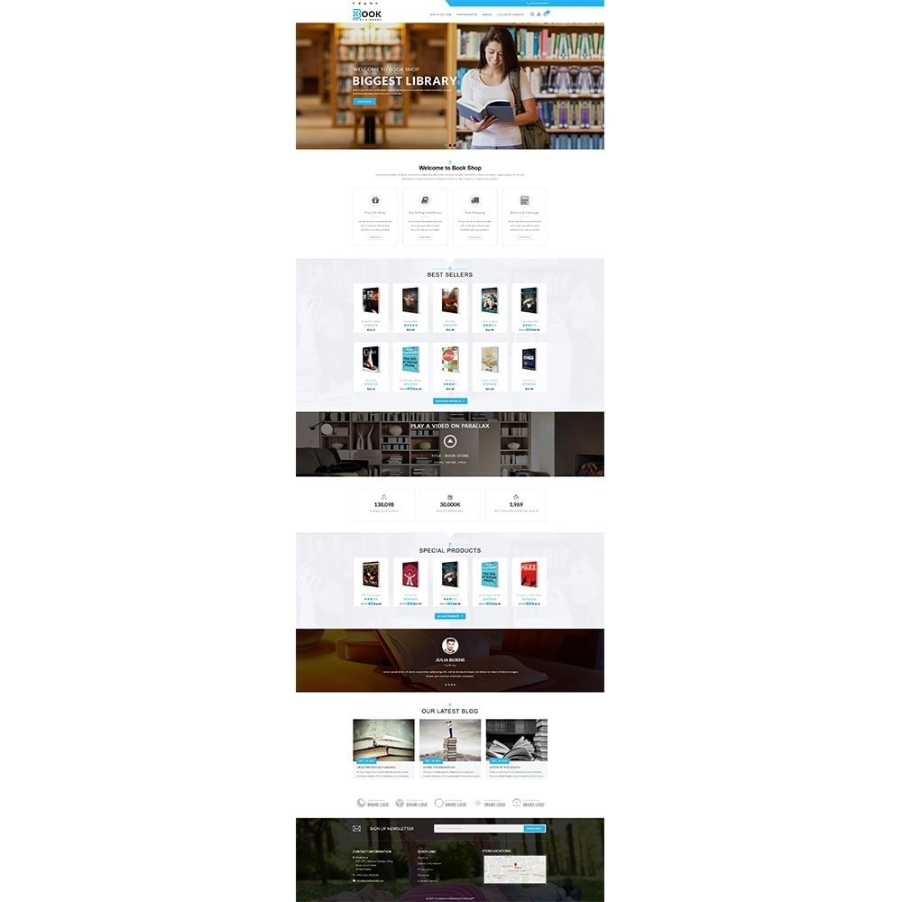 theme - Art & Culture - Book Store - 2