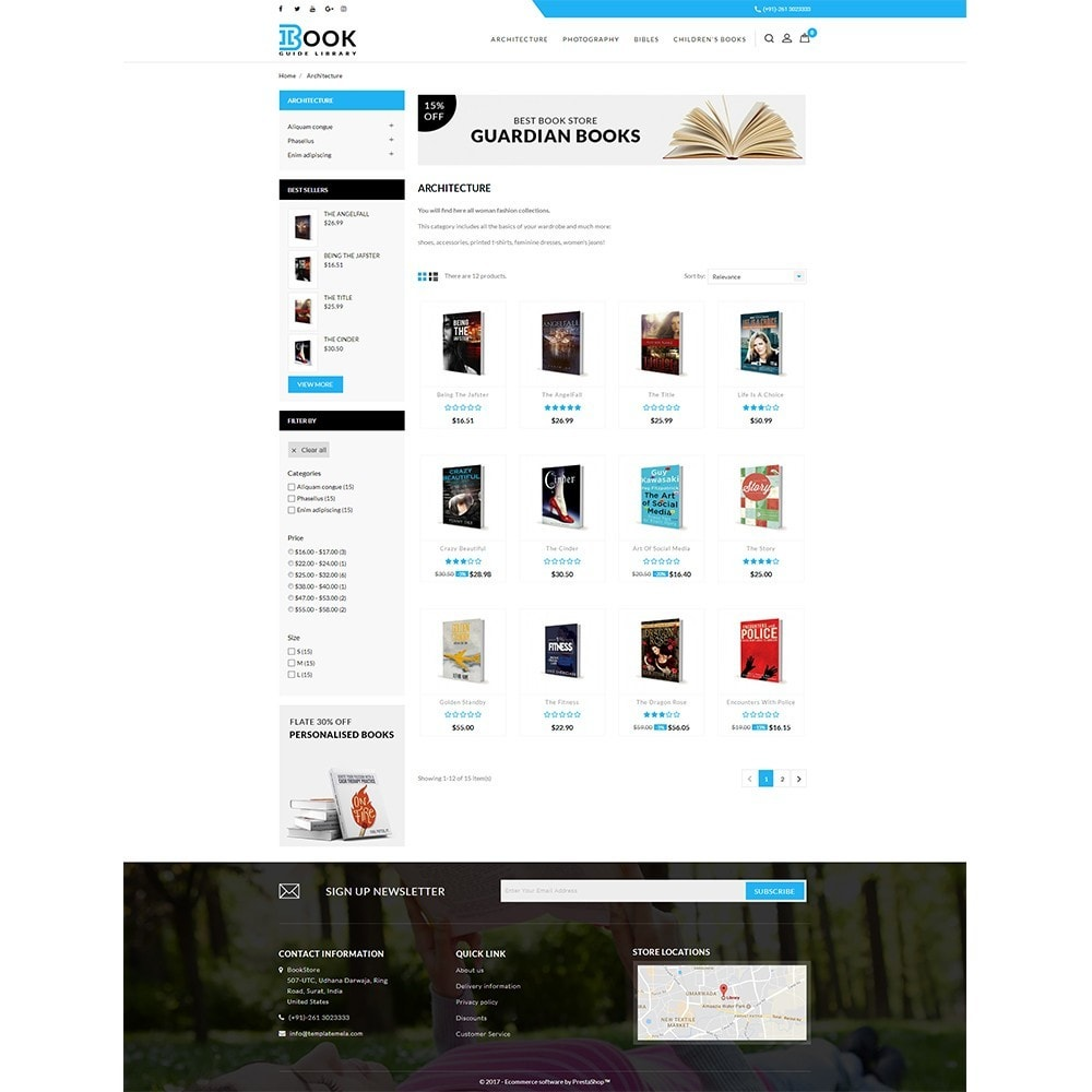 theme - Искусство и Культура - Book Store - 3