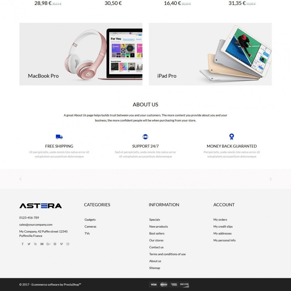 theme - Elektronica & High Tech - Astera - High-tech Shop - 4