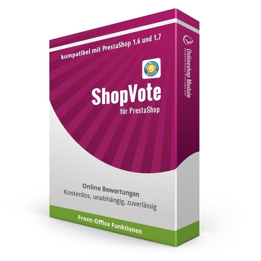 module - Kundenbewertungen - ShopVote Bewertungen - 1