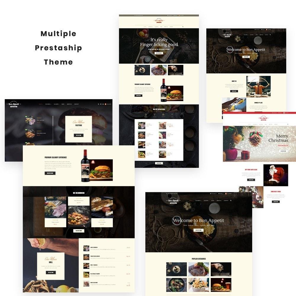 theme - Gastronomía y Restauración - Leo Bon Appetit - 1