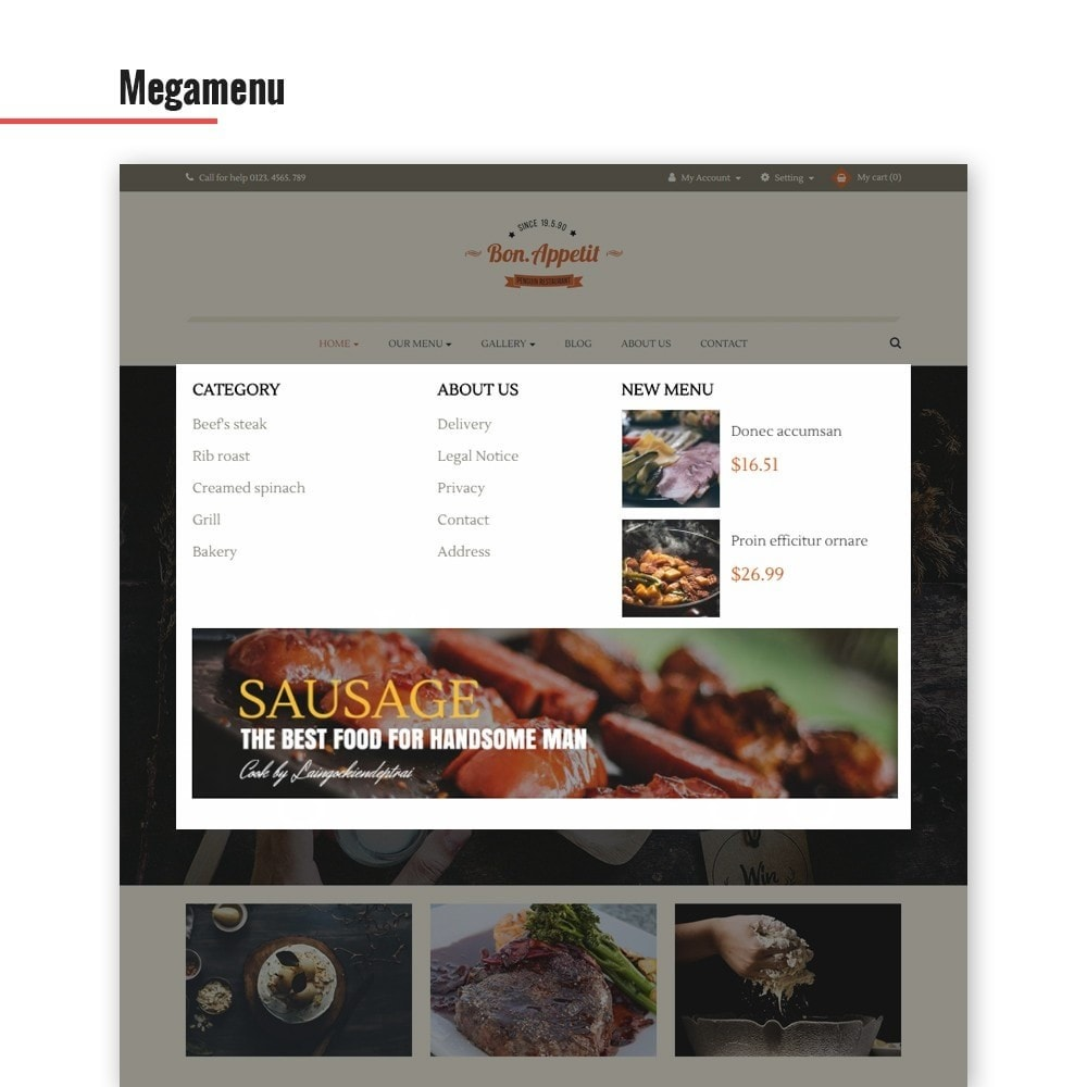 theme - Lebensmittel & Restaurants - Leo Bon Appetit - 4