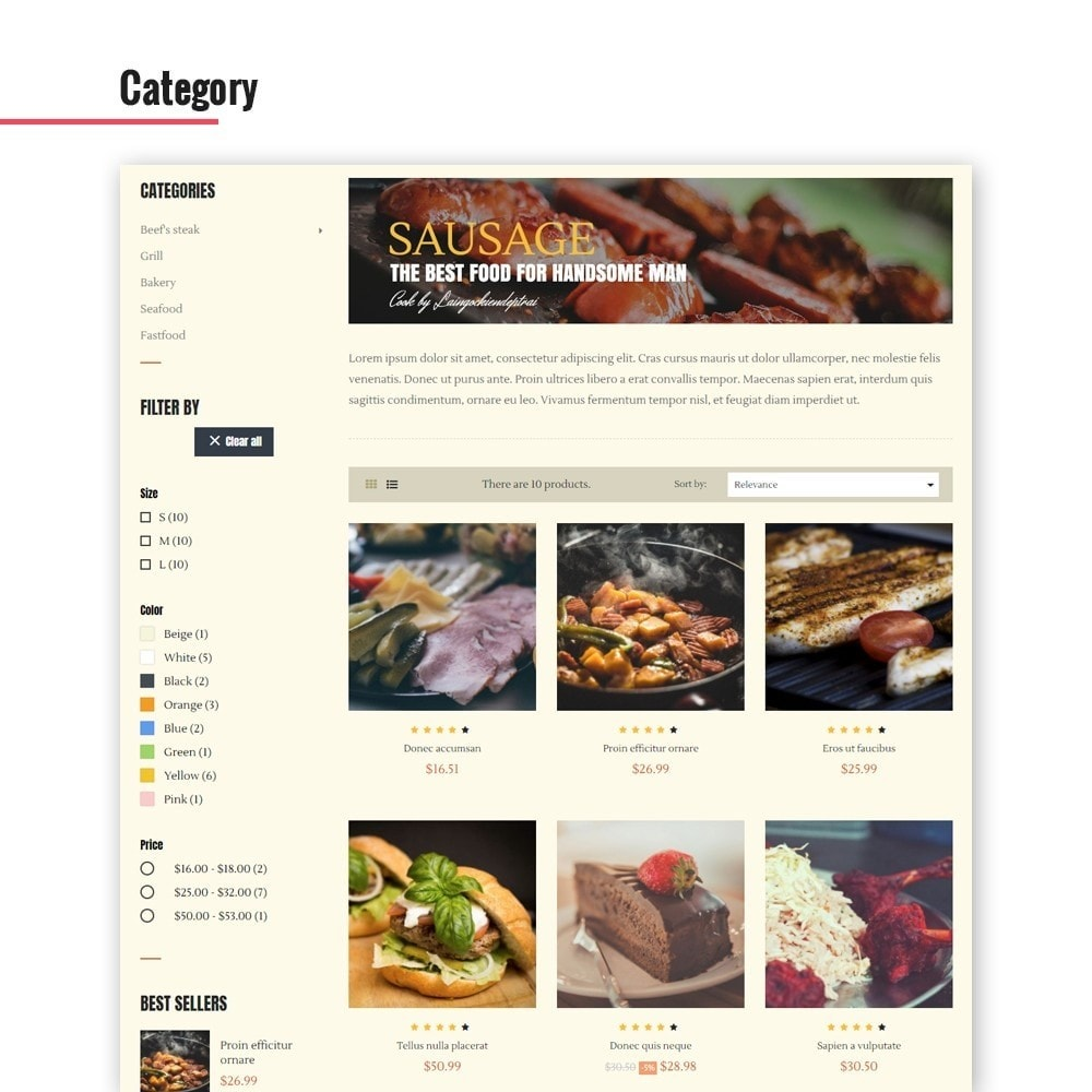 theme - Lebensmittel & Restaurants - Leo Bon Appetit - 5