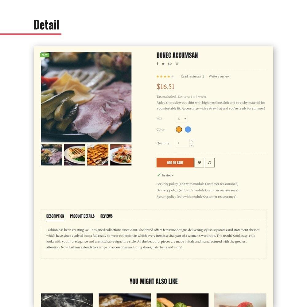 theme - Gastronomía y Restauración - Leo Bon Appetit - 7