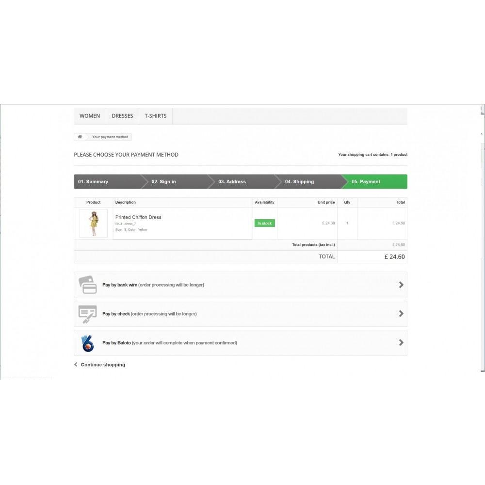 module - Płatność przy użyciu faktury - Baloto Payment Module - 2