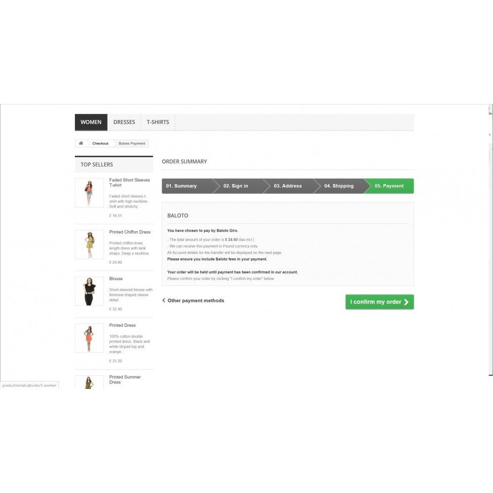 module - Płatność przy użyciu faktury - Baloto Payment Module - 8