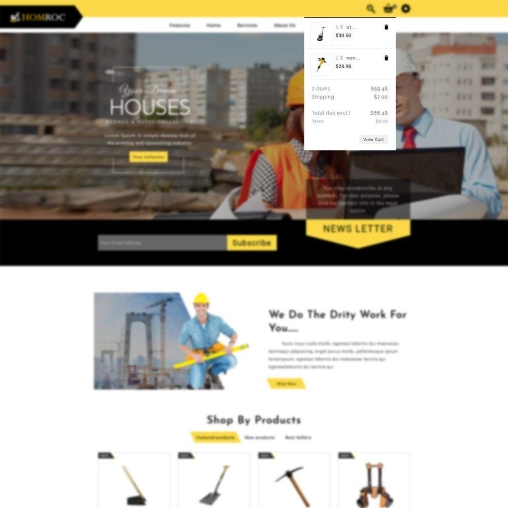 theme - Dom & Ogród - Homroc Construction Store - 6