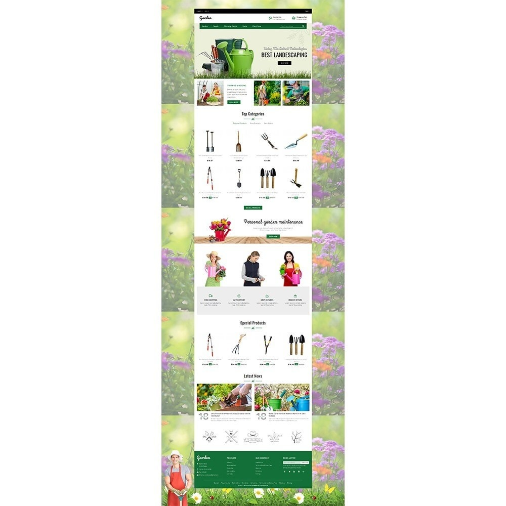 theme - Дом и сад - Garden Store - 2