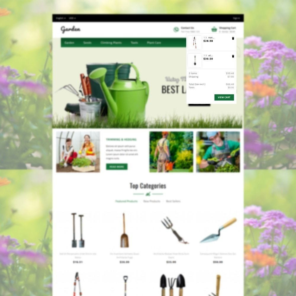 theme - Home & Garden - Garden Store - 6