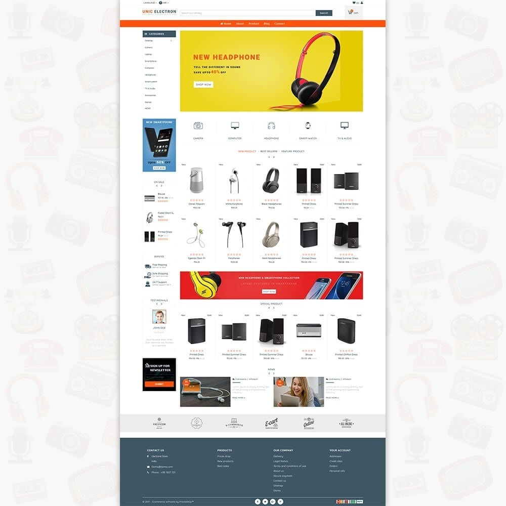 theme - Electronics & Computers - UNIC Electronics  - The Best Electronics Store - 2