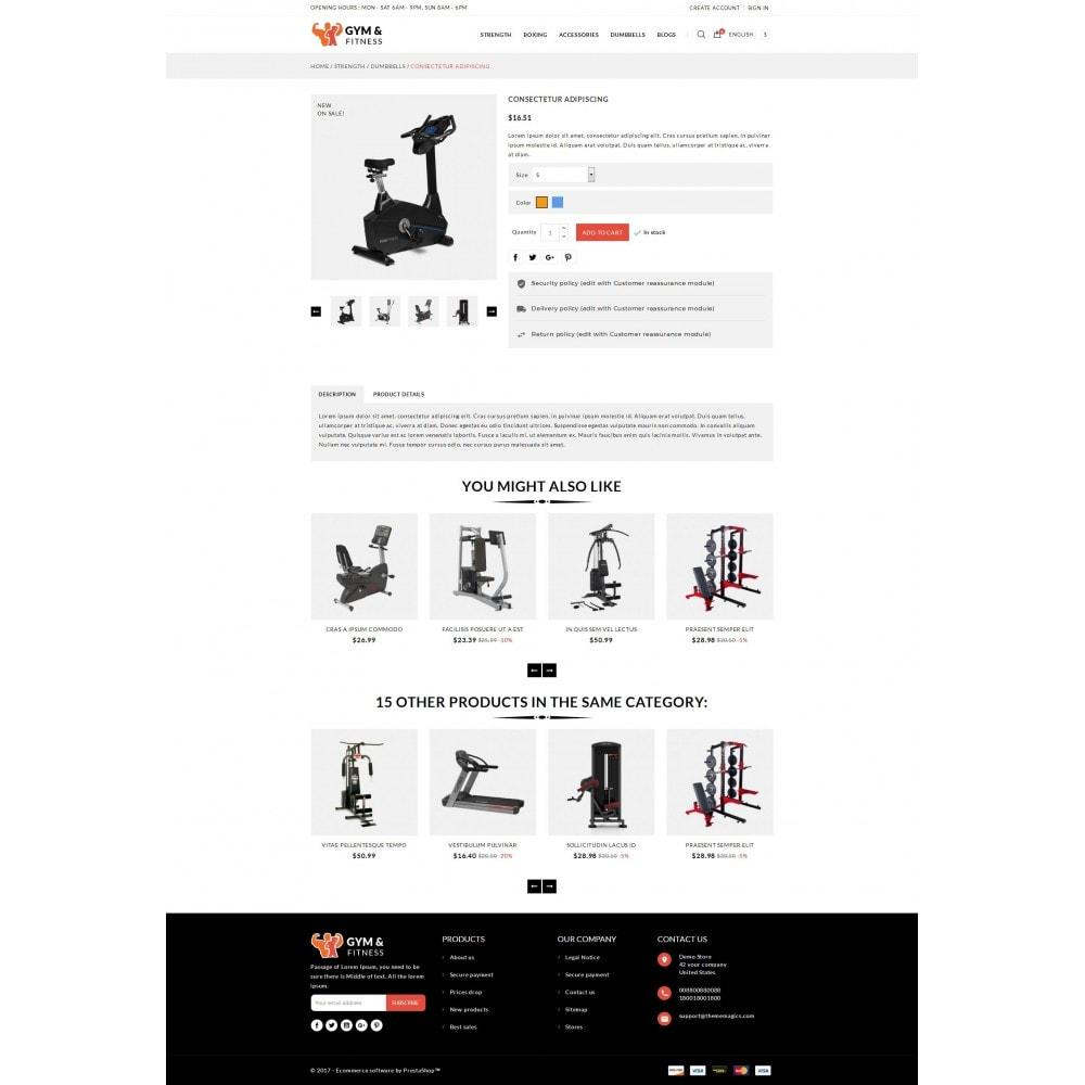 theme - Sport, Attività & Viaggi - Gym & Fitness - Online Store - 5