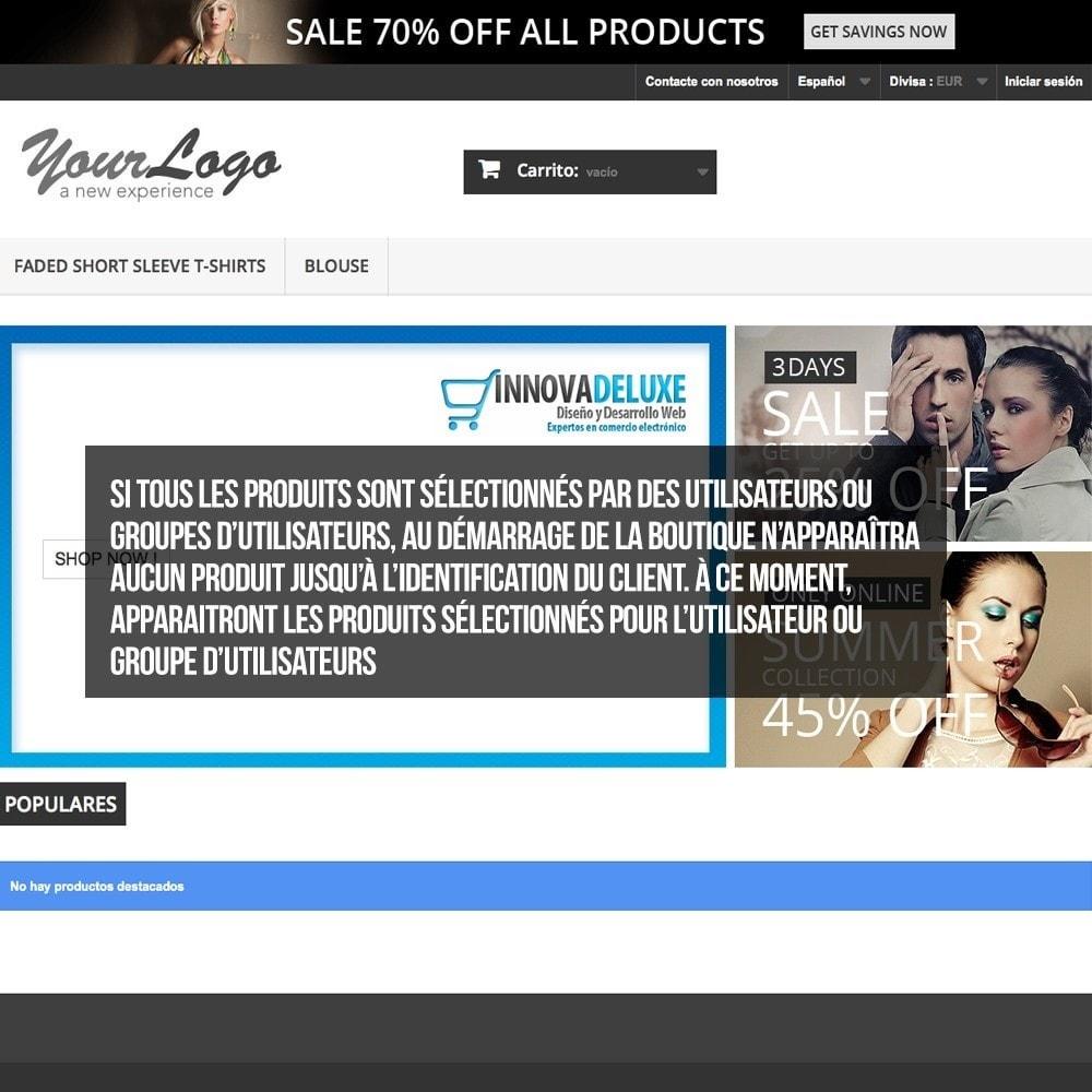 pack - B2B - Pack 2 - Boutique B2B privatisation pour professionnels - 19