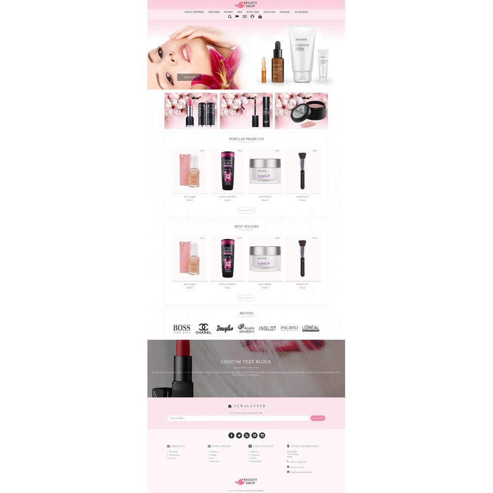 theme - Zdrowie & Uroda - Beauty Shop - 2
