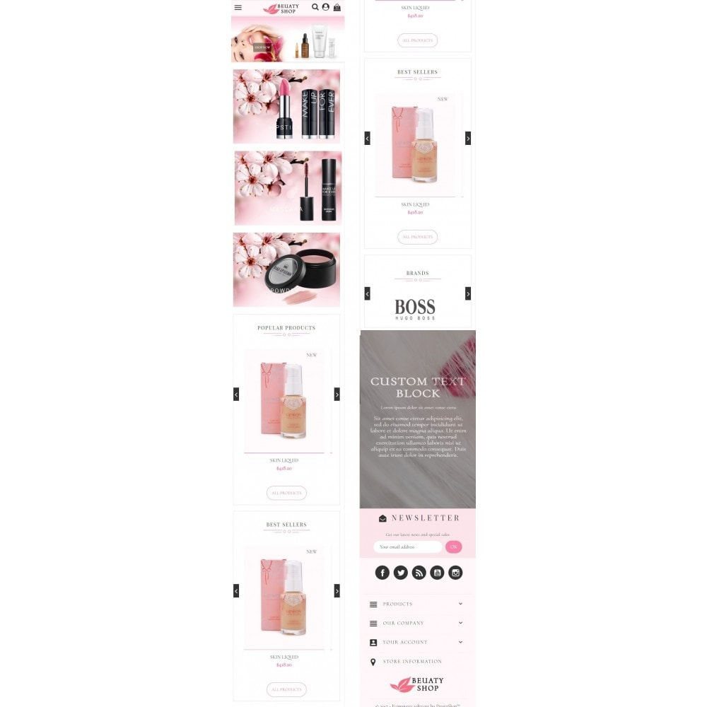 theme - Zdrowie & Uroda - Beauty Shop - 7