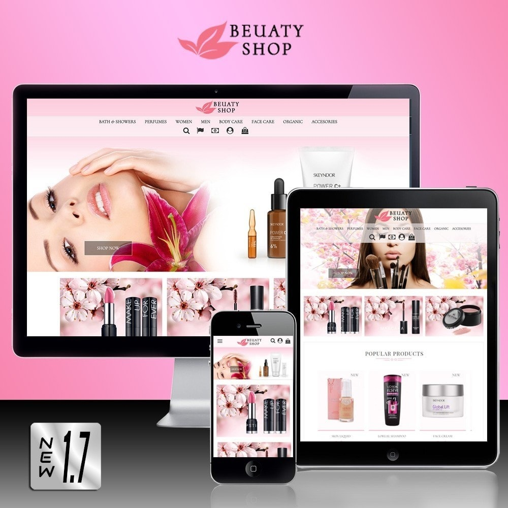 theme - Health & Beauty - Beauty Shop - 1