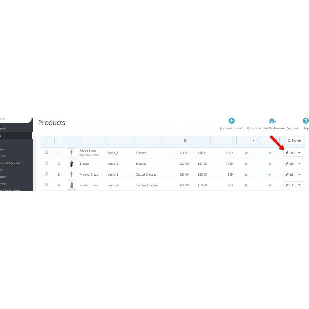 module - Combinazioni & Personalizzazione Prodotti - Styles Combination - 6