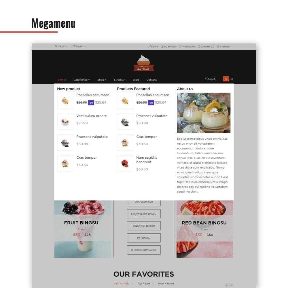 theme - Продовольствие и рестораны - Leo Cherish Store - 2