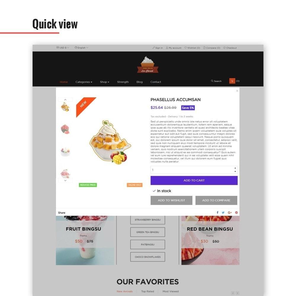 theme - Alimentos & Restaurantes - Leo Cherish Store - 5