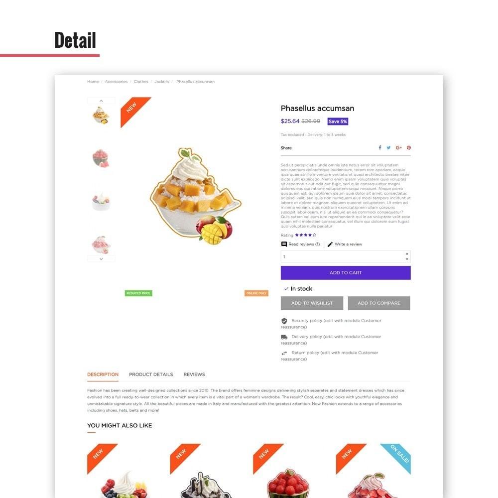 theme - Alimentos & Restaurantes - Leo Cherish Store - 6