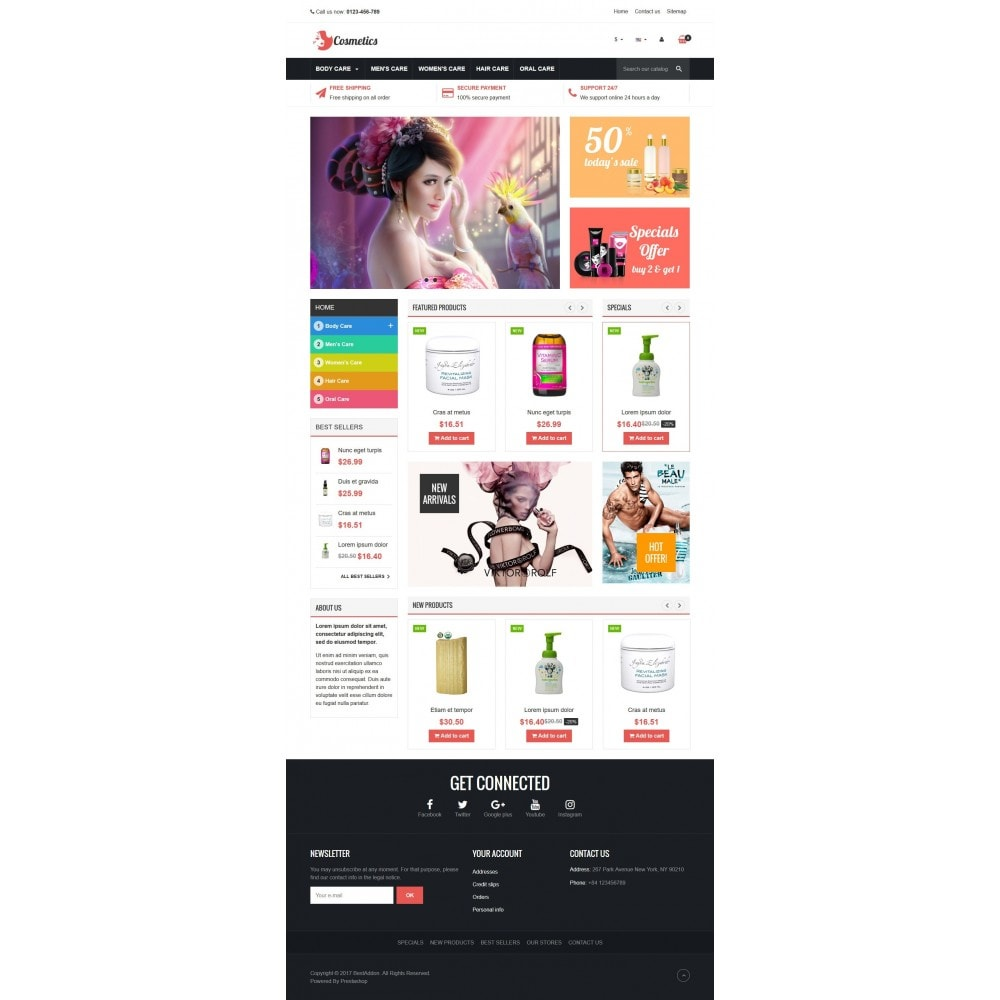 theme - Health & Beauty - VP_Cosmetics Store - 2