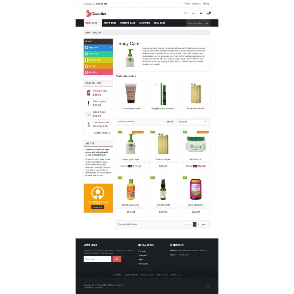 theme - Health & Beauty - VP_Cosmetics Store - 3
