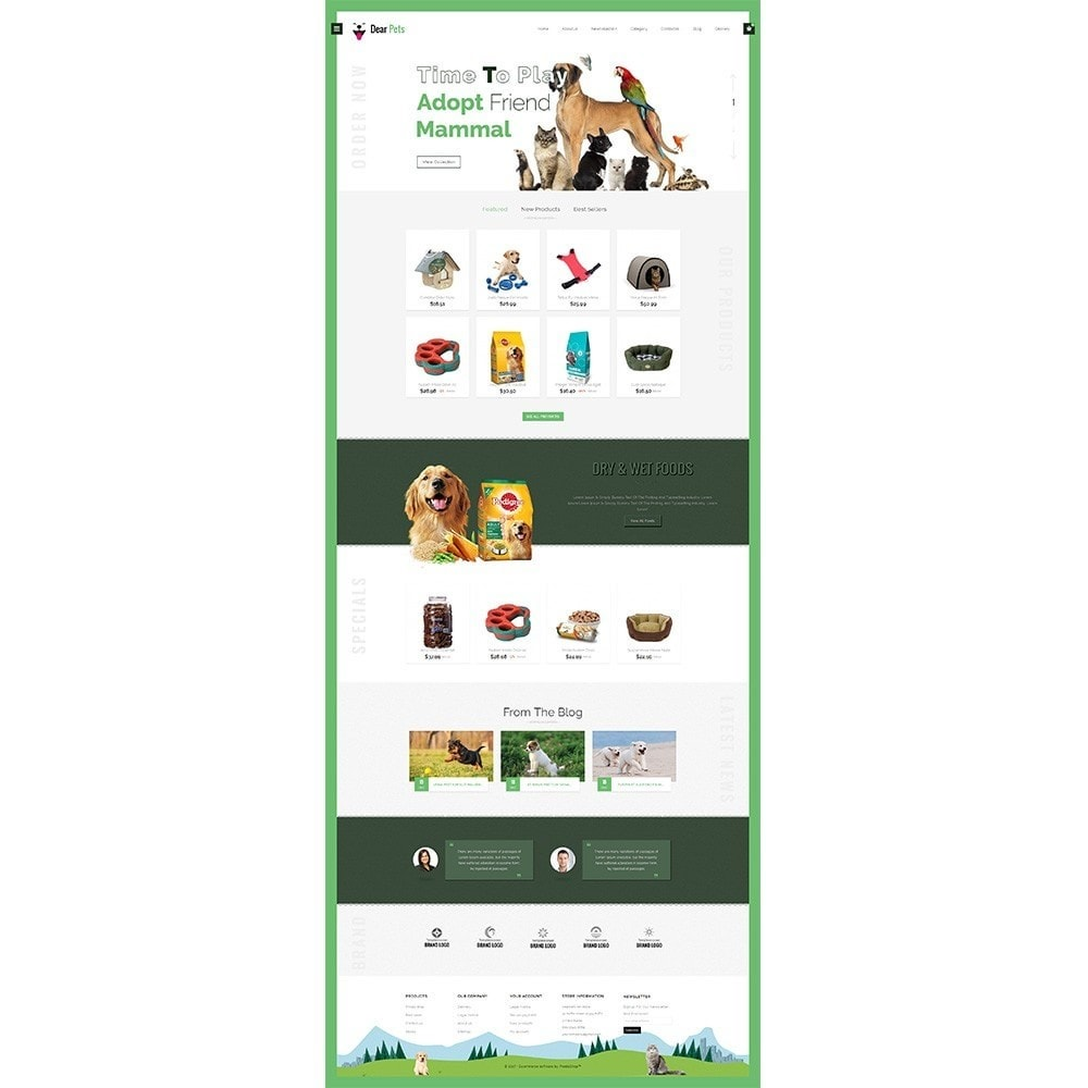 theme - Animali - Dearpets Pet Store - 2