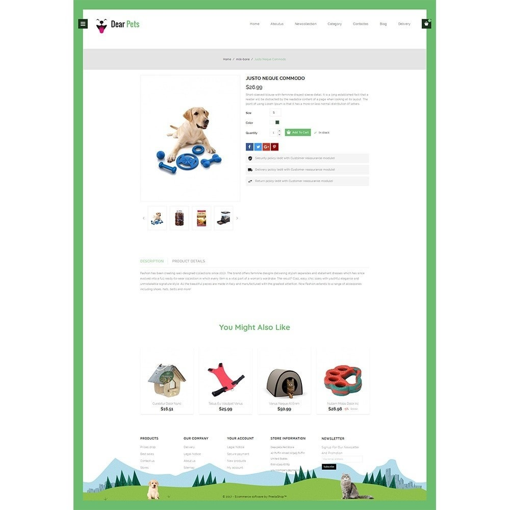 theme - Animali - Dearpets Pet Store - 4