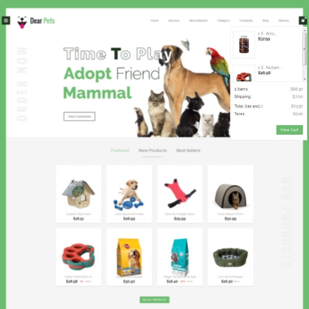 theme - Animali - Dearpets Pet Store - 6