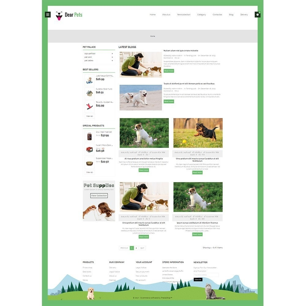 theme - Animali - Dearpets Pet Store - 8