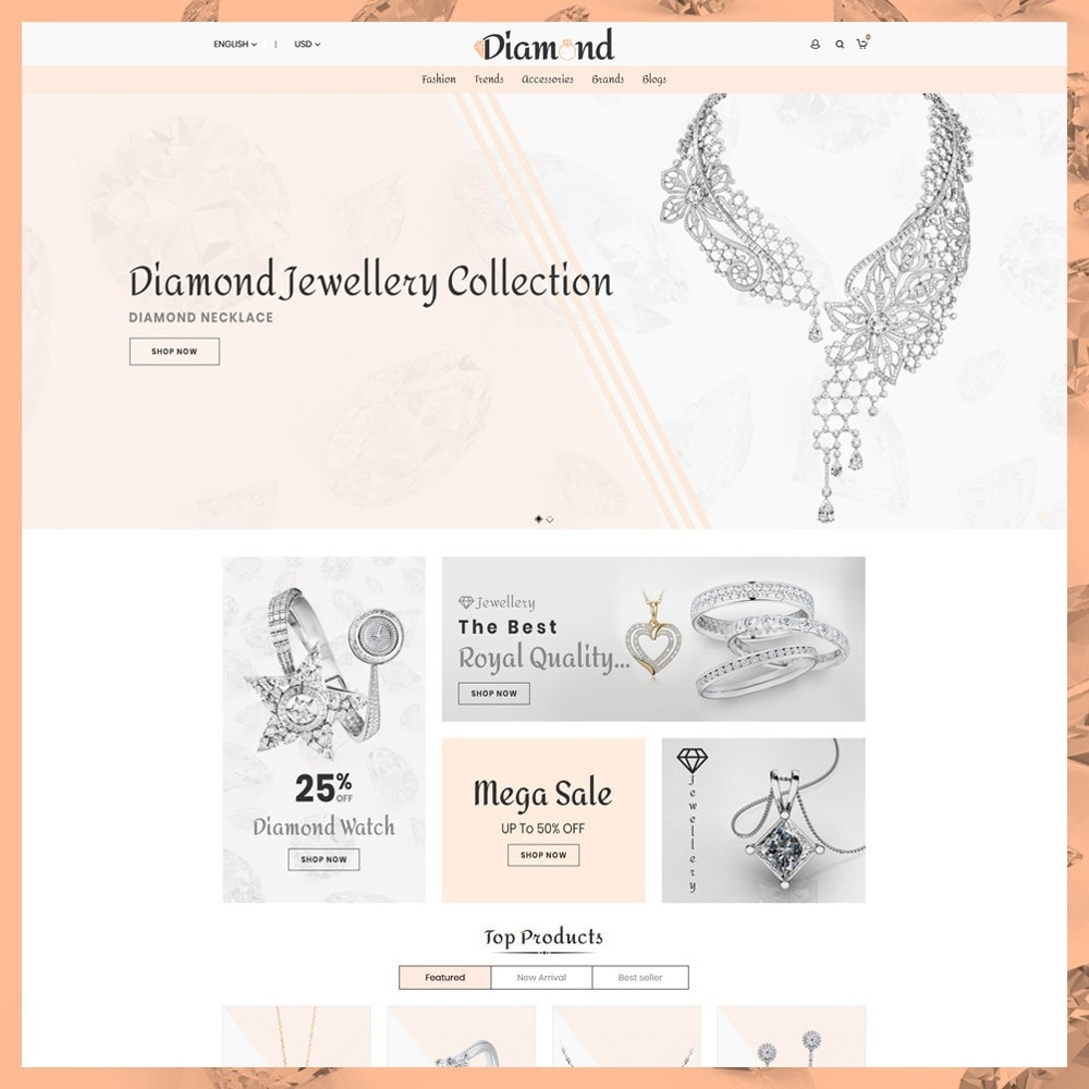 theme - Ювелирные изделия и Аксессуары - Diamond Jewellery - 2