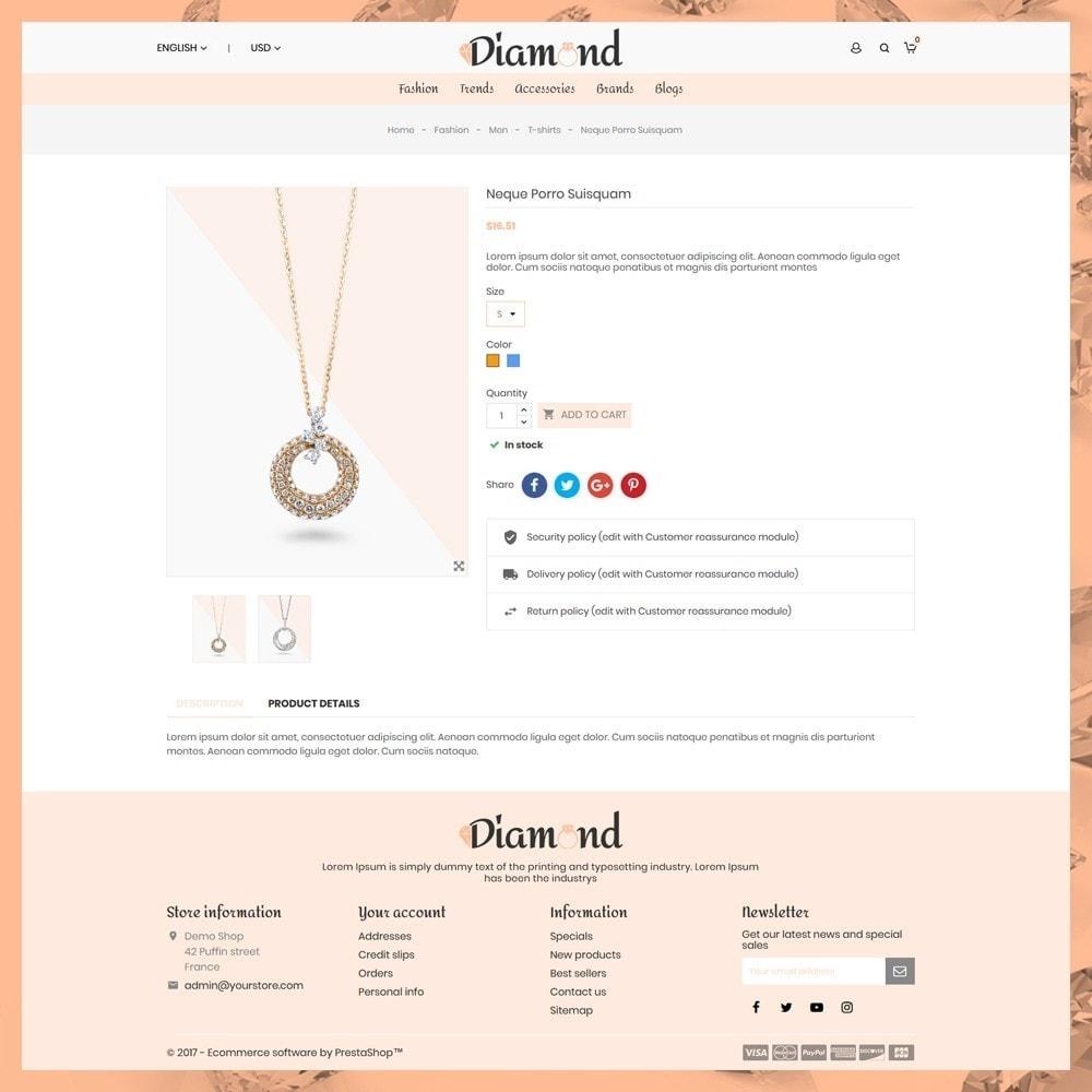 theme - Ювелирные изделия и Аксессуары - Diamond Jewellery - 6