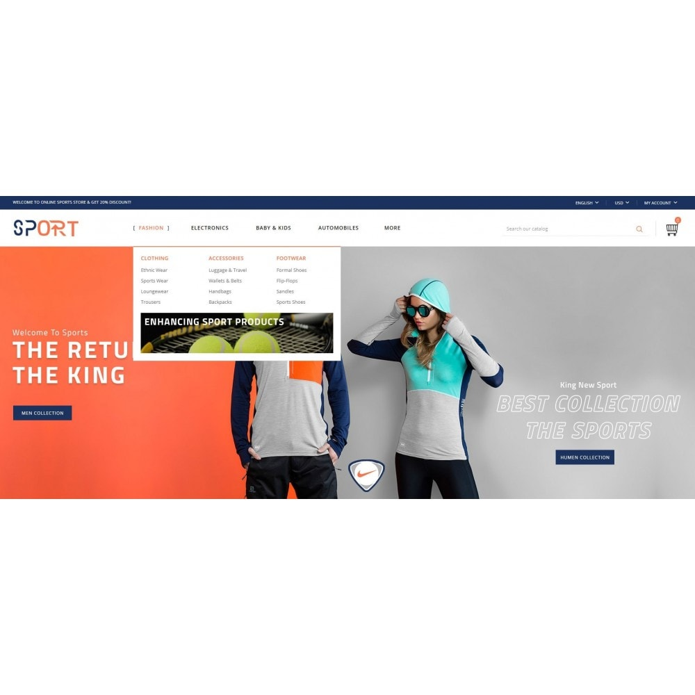 theme - Sports, Activities & Travel - Sports Store - 6