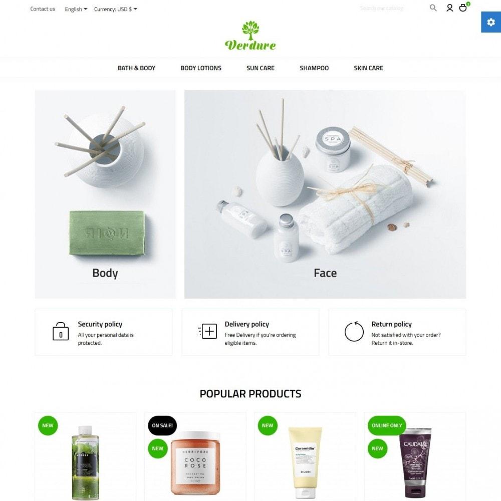 theme - Health & Beauty - Verdure Cosmetics - 2