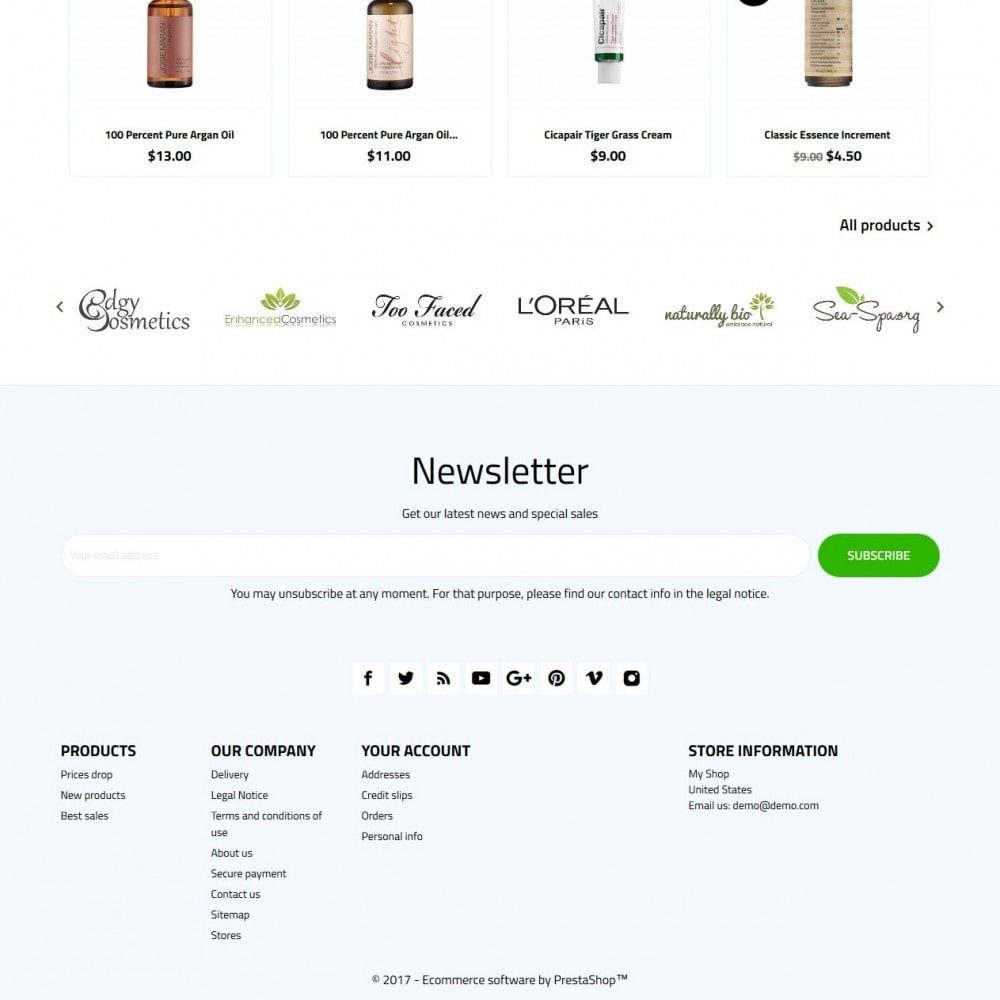 theme - Health & Beauty - Verdure Cosmetics - 4