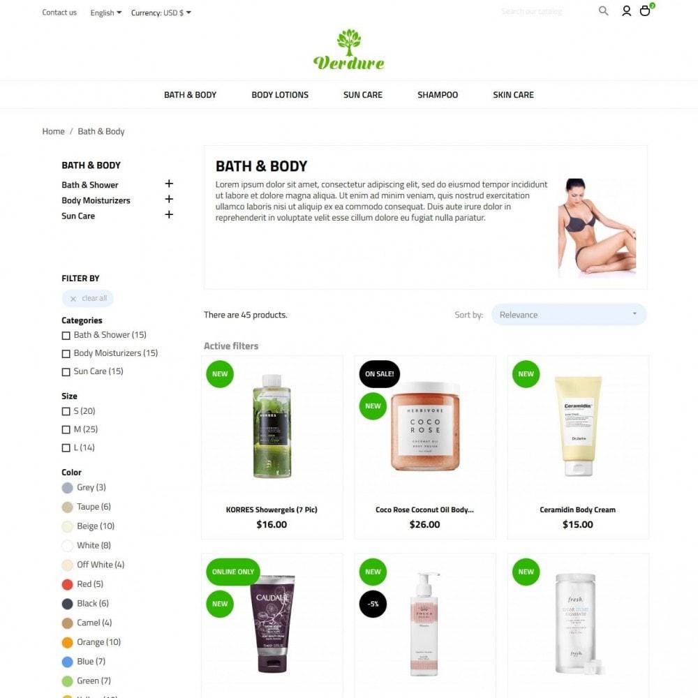 theme - Health & Beauty - Verdure Cosmetics - 5