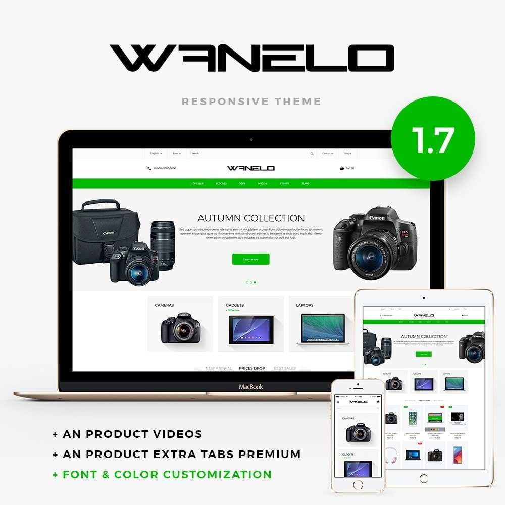 theme - Elektronica & High Tech - Wanelo - High-tech Shop - 1